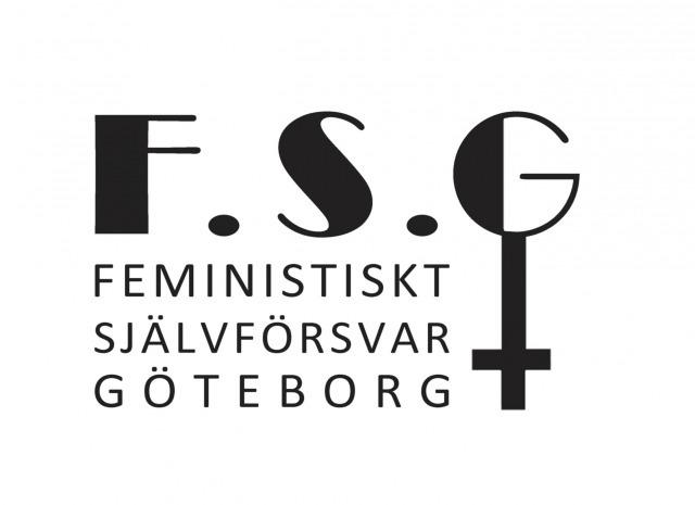 Foto: Feministisk självförsvar Göteborgs logga