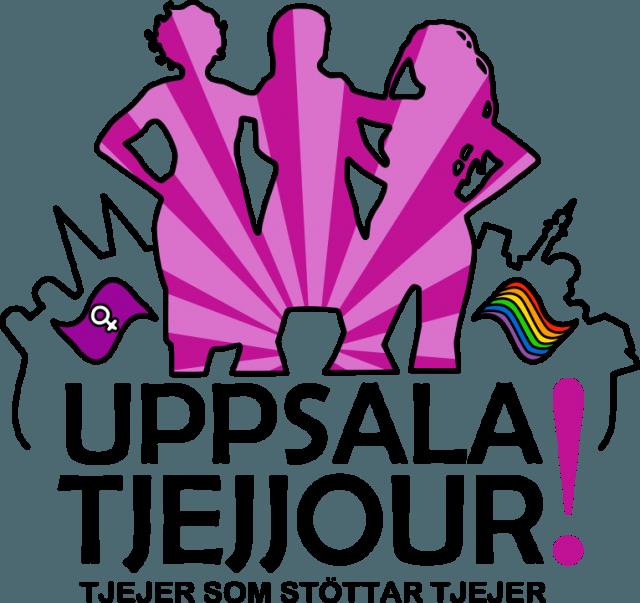 Foto: Uppsala Tjejjours logga